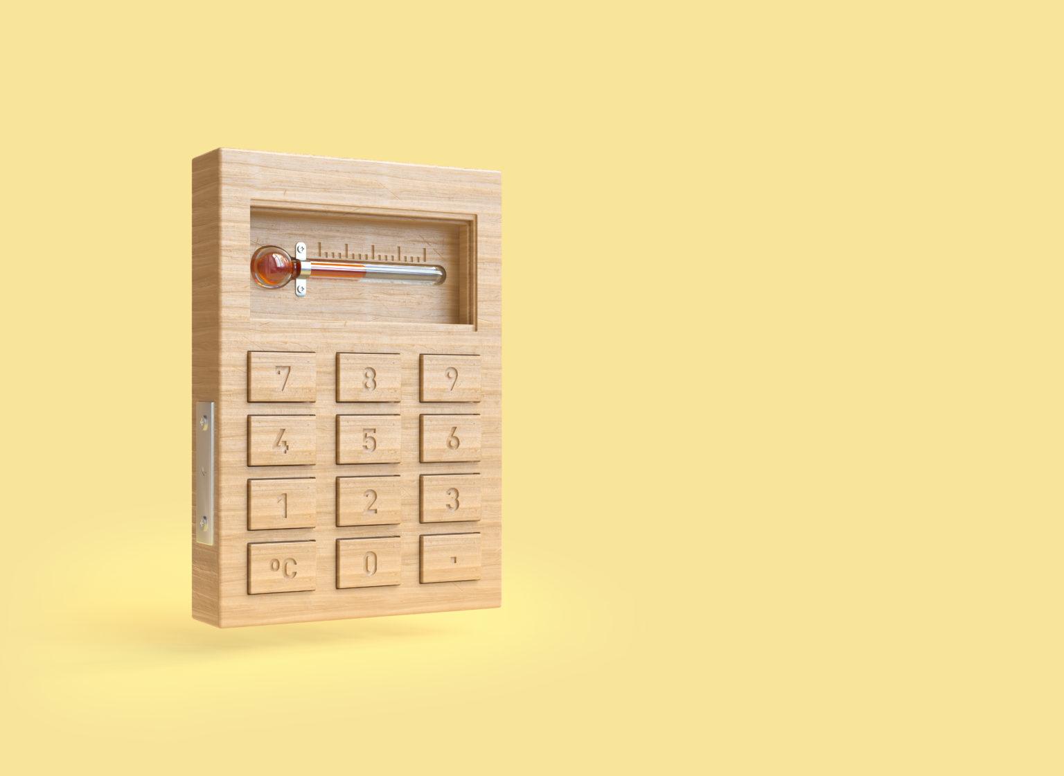Calculateur pour calculeur les économies d'énergie en image 3D.